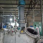 河南省化工5000L搅拌器现场安装调试